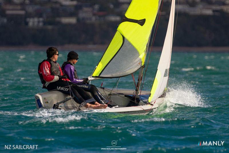 2021 RS Feva NZ National Championships, Manly Sailing Club - April 2021 - photo © Craig Butland