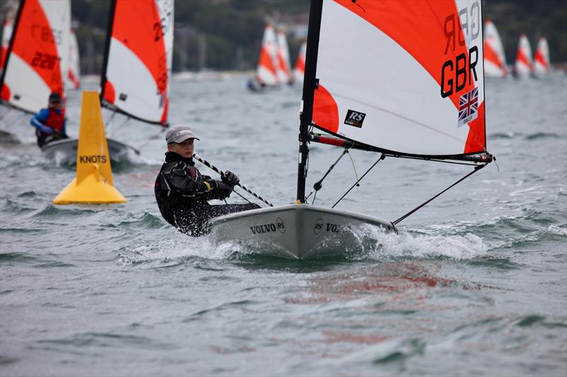 Will Bailey on day 4 of the RS Tera Worlds during the RS Games at the WPNSA - photo © Pegs Field
