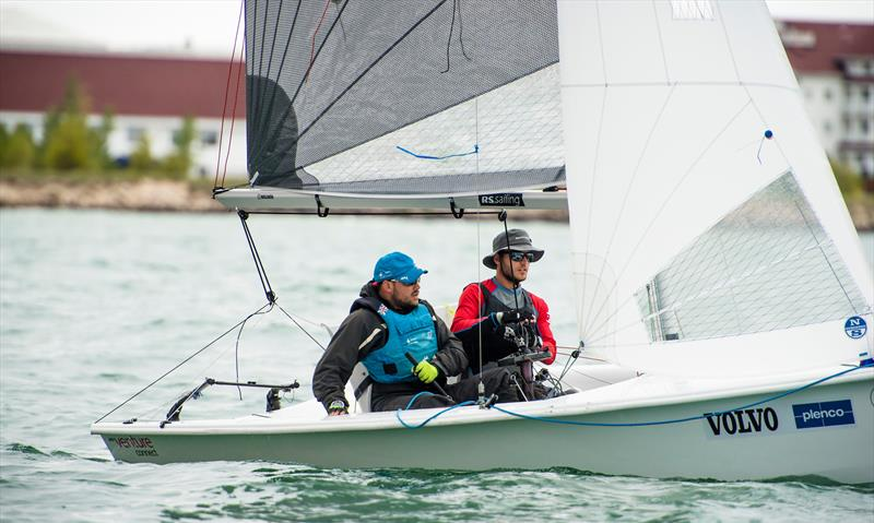 RS Venture - Para Sailing World Championship, Sheboygan, Wisconsin, USA. photo copyright Cate Brown / World Sailing taken at Sheboygan Yacht Club and featuring the RS Venture class