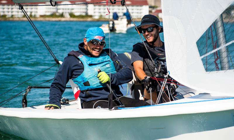 Will Street and Jonathan Currell (GBR) winners of the RS Venture Gold Medal - Final Day  - Final Day - Para Sailing World Championship, Sheboygan, Wisconsin, USA.  - photo © Cate Brown