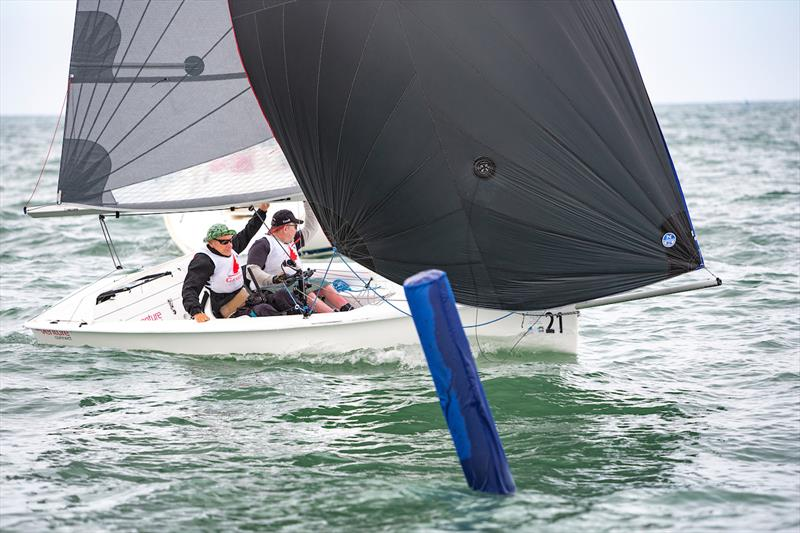 RS Ventures on day 4 of the Para World Sailing Championships - photo © Miguel Paez