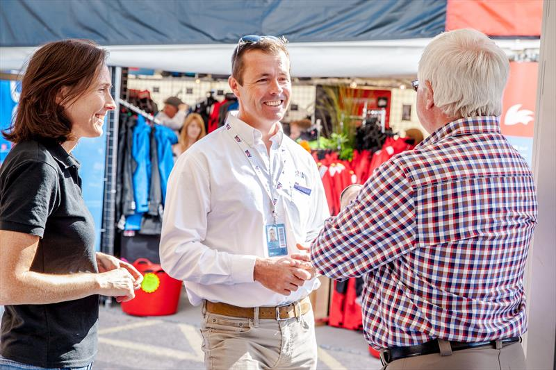 Ask the RYA at Poole Harbour Boat Show - photo © Emily Whiting
