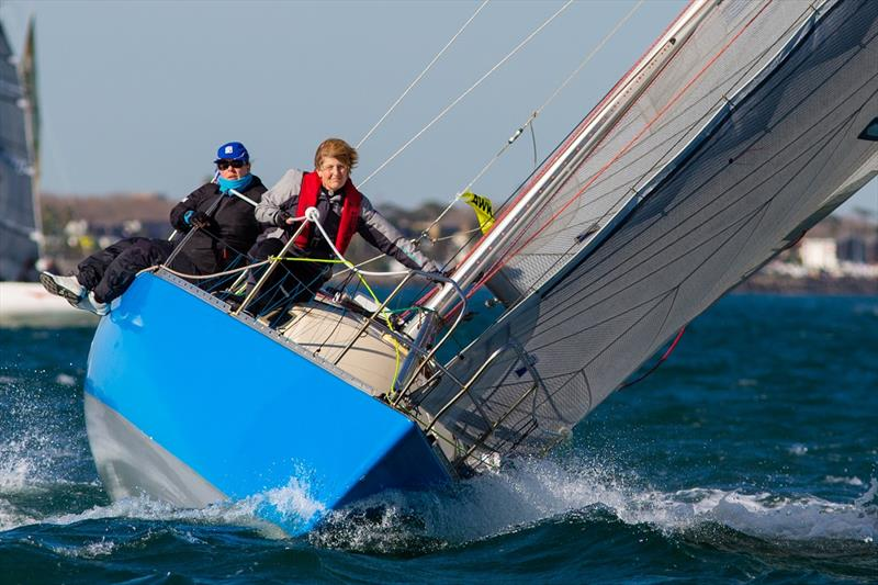 Leo Eeckman steered Le Cascadeur is Div 1 third overall - Australian Women's Keelboat Regatta - photo © Bruno Cocozza / AWKR