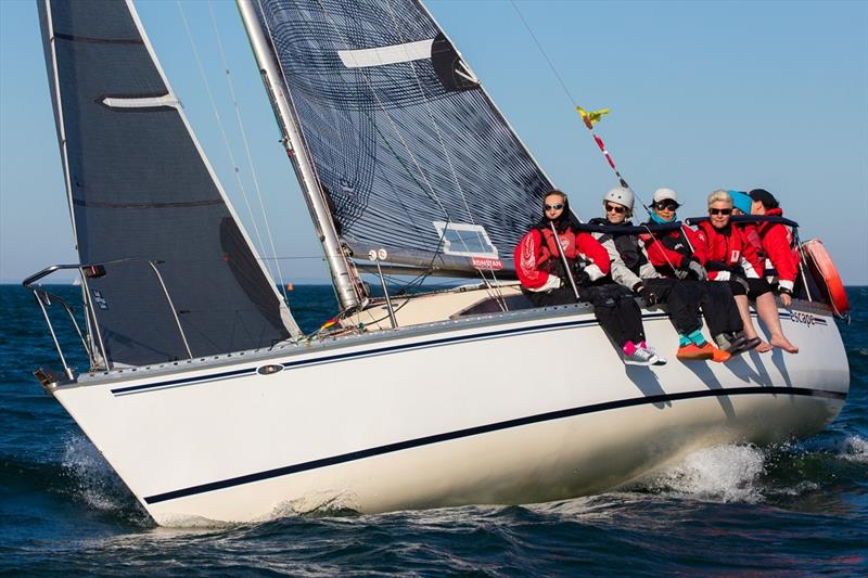 The Holly Farmer skippered Escape  - Australian Women's Keelboat Regatta - photo © Bruno Cocozza / AWKR