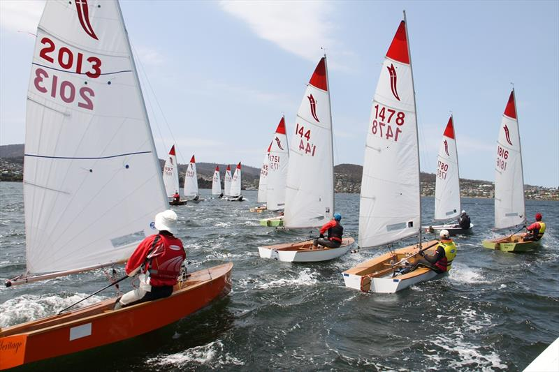 Sabres on the water at the Lindisfarne Sailing Club - photo © Emily Snadden