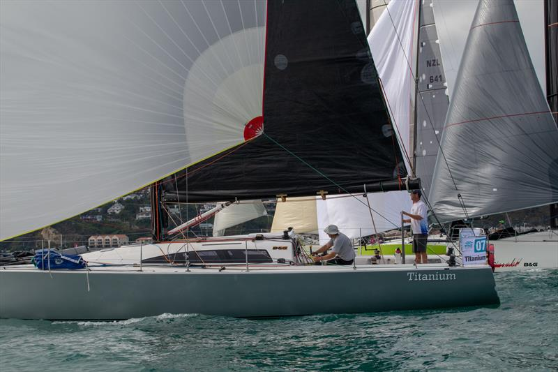 Titanium pictured at the start of the RNZ2019. She is also entered in the 2020 Evolution Sails RNI. - photo © Deborah Williams