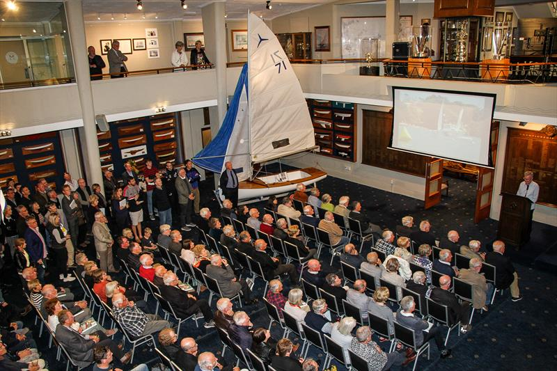 Part of the audience which packed out the ballroom at RNZYS for the launch of `Des Townson - A Sailing Legacy` a biography written by Brian Peet over 10 years.  - photo © Richard Gladwell