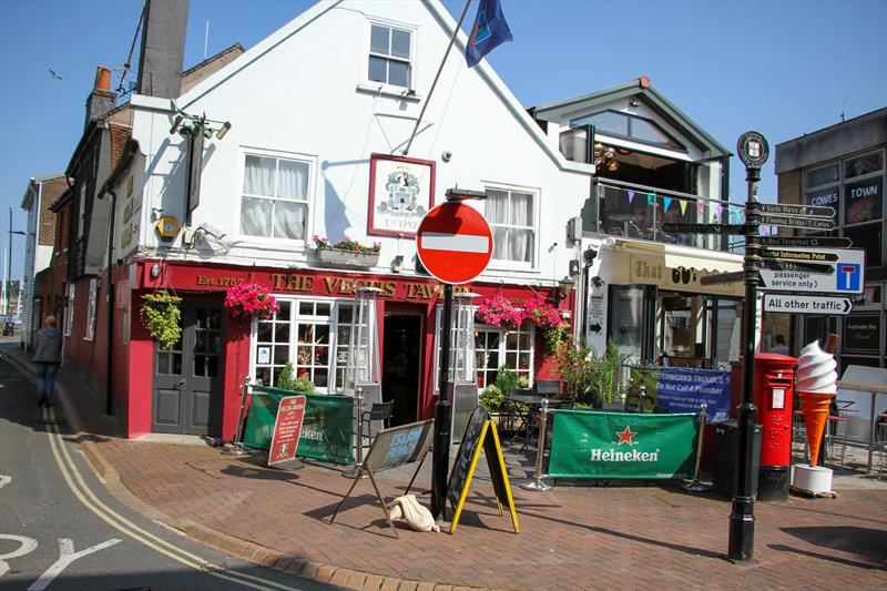 The Vectis Tavern (1757) is one of the oldest 'watering holes' in Cowes, Isle of Wight - photo © Richard Gladwell / Sail-World.com
