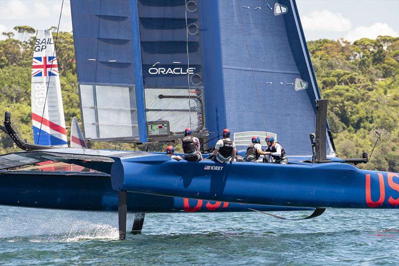 SailGP Practice race day. SailGP USA Team. - photo © © Chris Cameron / SailGP
