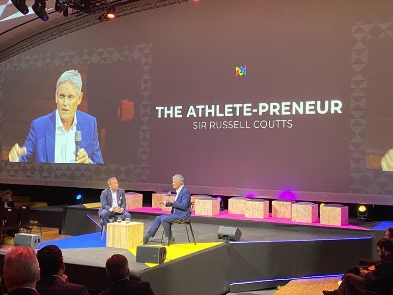 Russell Coutts - Athlete-Preneur - Global Sports Week - February 2020 - photo © Global Sports Week Paris