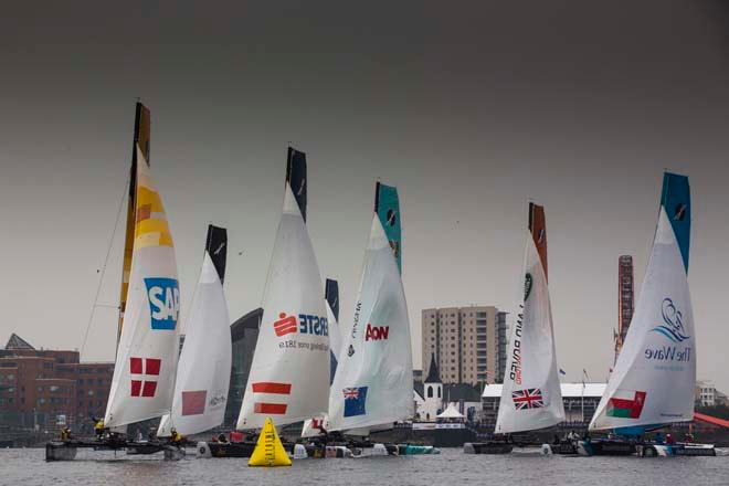 The Extreme Sailing Series 2013 © Lloyd Images