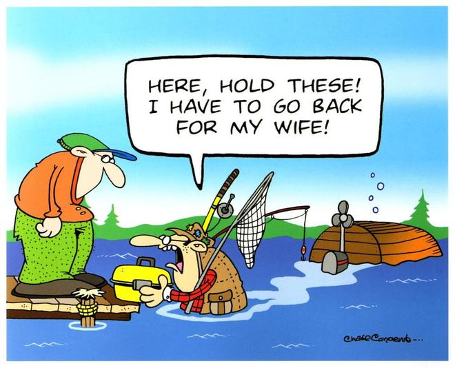 The fishing version ©  SW