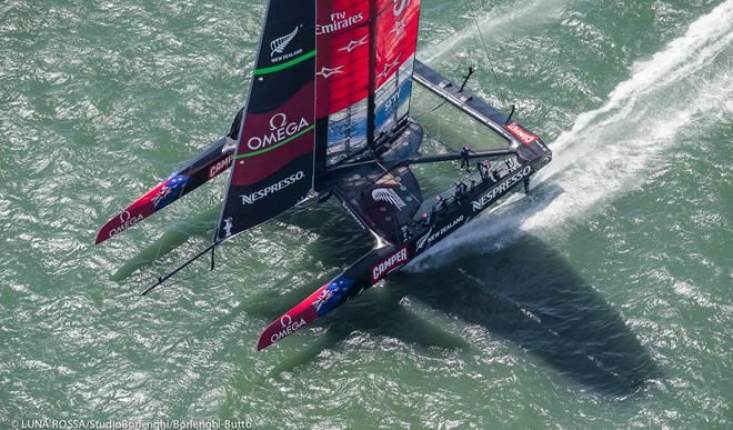 34th America's Cup - Louis Vuitton Cup Final - Emirates Team New Zealand ©  Luna Rossa/Studio Borlenghi/Borlenghi-Butto