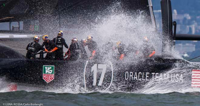 San Francisco, 10/09/13 34th AMERICA'S CUP America's Cup Final 5 Emirates Team New Zealand vs Oracle Team USA © Carlo Borlenghi/Luna Rossa http://www.lunarossachallenge.com