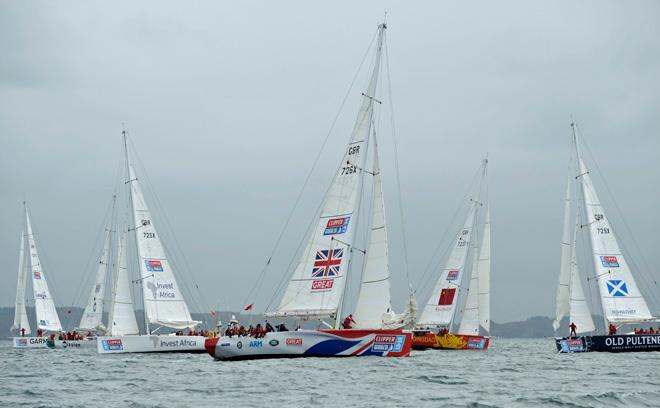 Clipper Round the World Yacht Race © Clipper Ventures PLC . http://www.clipperroundtheworld.com