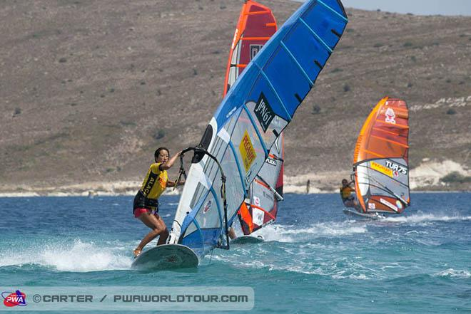Suzuki makes the final - PWA Alacati World Cup 2013 ©  John Carter / PWA http://www.pwaworldtour.com