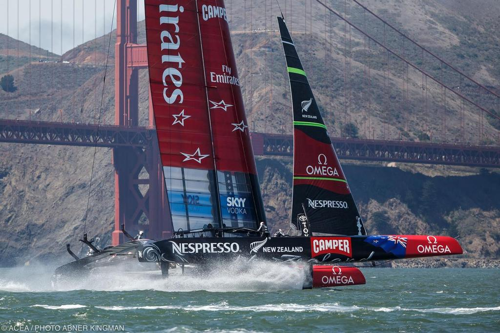 Louis Vuitton Cup Finals Race 7; ETNZ vs Luna Rossa © ACEA / Photo Abner Kingman http://photo.americascup.com
