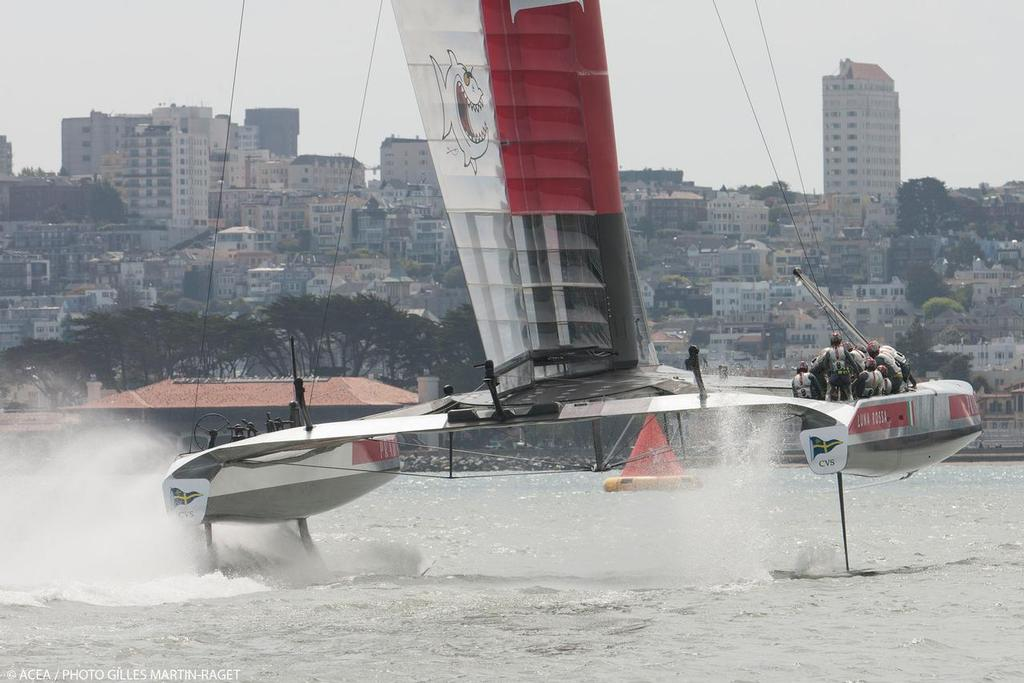 Luna Rossa, Louis Vuitton Cup Final, Day 3 © ACEA - Photo Gilles Martin-Raget http://photo.americascup.com/