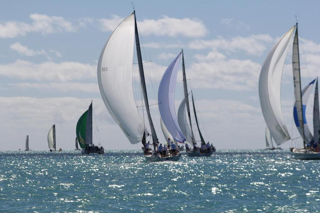 Heading for Two Cones - Abell Point Marina Airlie Beach Race Week 2013 © Sail-World.com http://www.sail-world.com