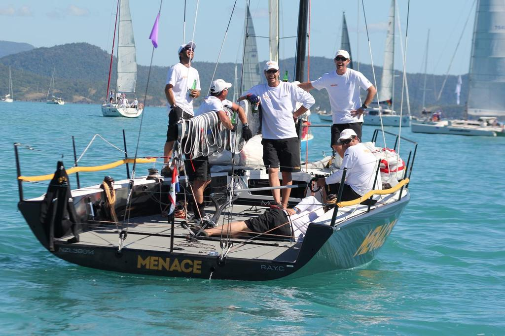 Some are worse for wear - Abell Point Marina Airlie Beach Race Week 2013 © Sail-World.com http://www.sail-world.com