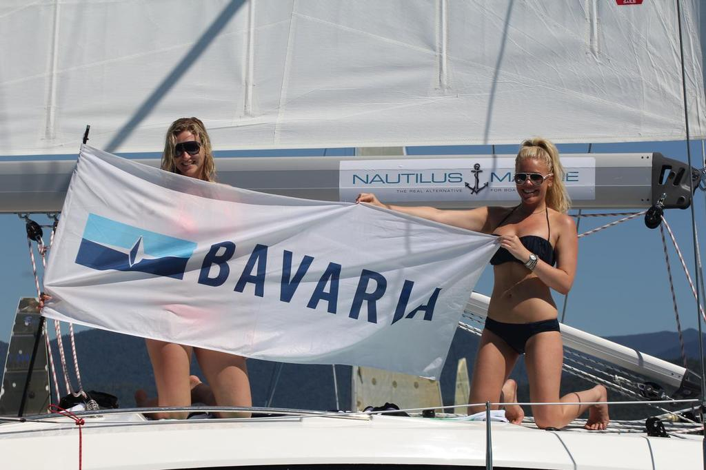 Team Bavaria - Abell Point Marina Airlie Beach Race Week 2013 © Sail-World.com http://www.sail-world.com