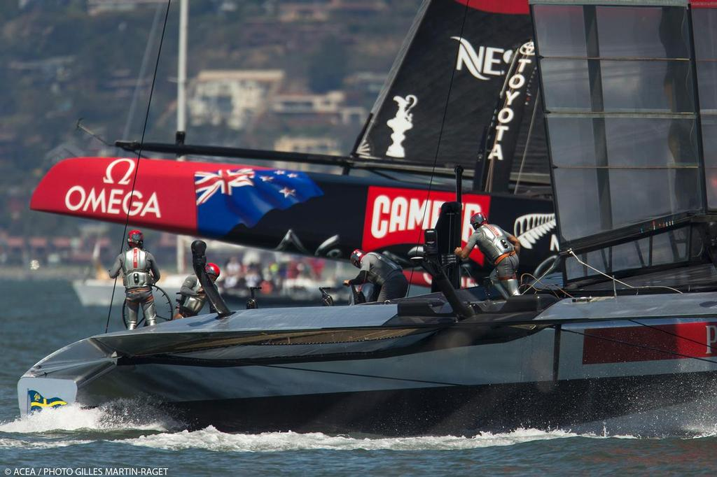 34th America's Cup - Louis Vuitton Cup Final, Day 4, Race 4 © ACEA - Photo Gilles Martin-Raget http://photo.americascup.com/