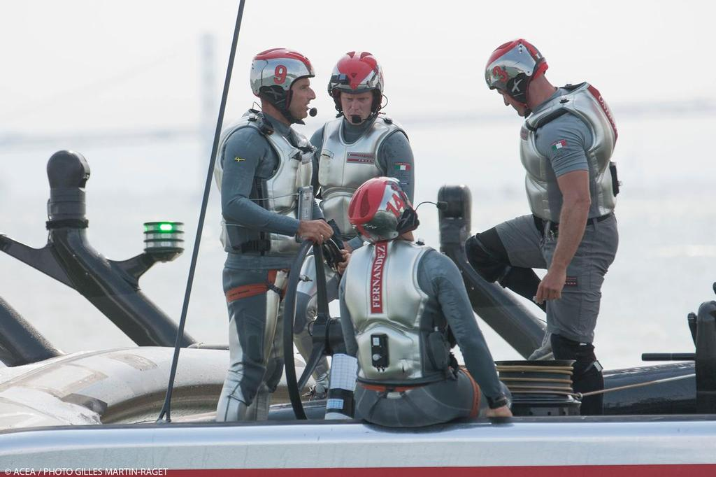 Luna Rossa - Louis Vuitton Cup Final, Day 3 © ACEA - Photo Gilles Martin-Raget http://photo.americascup.com/