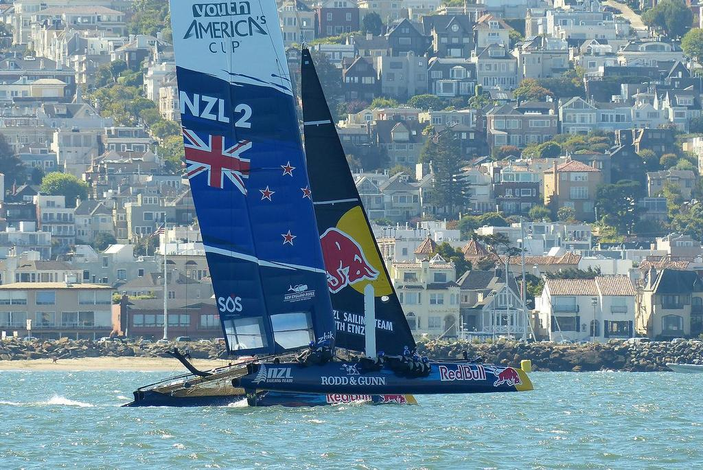 Red Bull Youth America's Cup - Practice Day - August 27, 2013 © John Navas