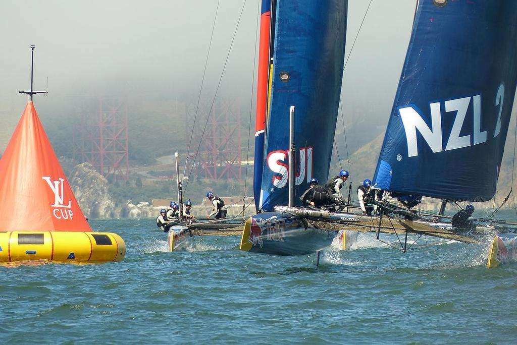 - Red Bull Youth America's Cup - Practice Day - August 27, 2013 © John Navas