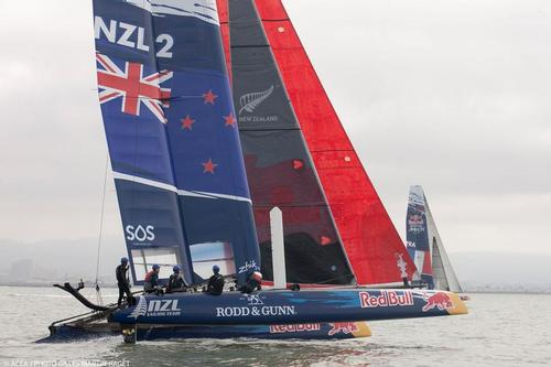 Winners of the Red Bull Youth America's Cup - Olympic Silver medalist, Peter Burling and the NZL Sailing Team entry © ACEA - Photo Gilles Martin-Raget http://photo.americascup.com/
