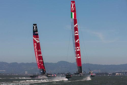 Louis Vuitton Cup Final, Day 6, Emirates Team New Zealand Vs Luna Rossa © ACEA - Photo Gilles Martin-Raget http://photo.americascup.com/
