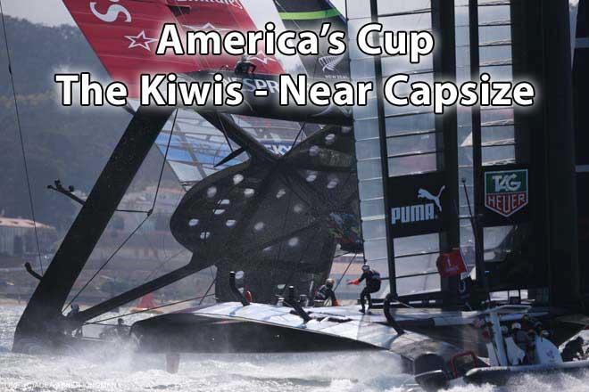 Ac-Kiwi-capsize © ACEA / Photo Abner Kingman http://photo.americascup.com