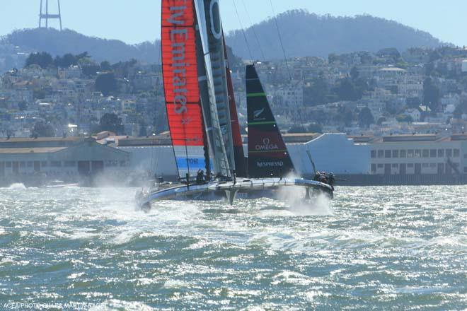 34th America's Cup - Oracle Team USA vs Emirates Team New Zealand, Race Day 6 © ACEA - Photo Gilles Martin-Raget http://photo.americascup.com/