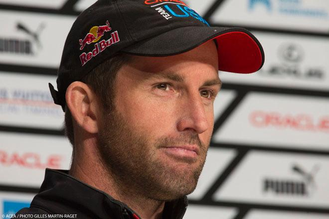 19/09/2013 - San Francisco (USA,CA) - 34th America's Cup - Final Match - Racing Day 9 - Sir Ben Ainslie, Oracle Team USA © ACEA / Photo Abner Kingman http://photo.americascup.com