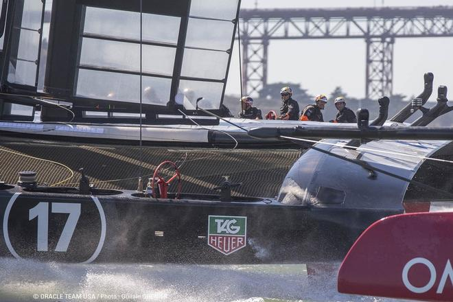 34th America's cup -  Oracle team USA in action © Oracle Team USA media