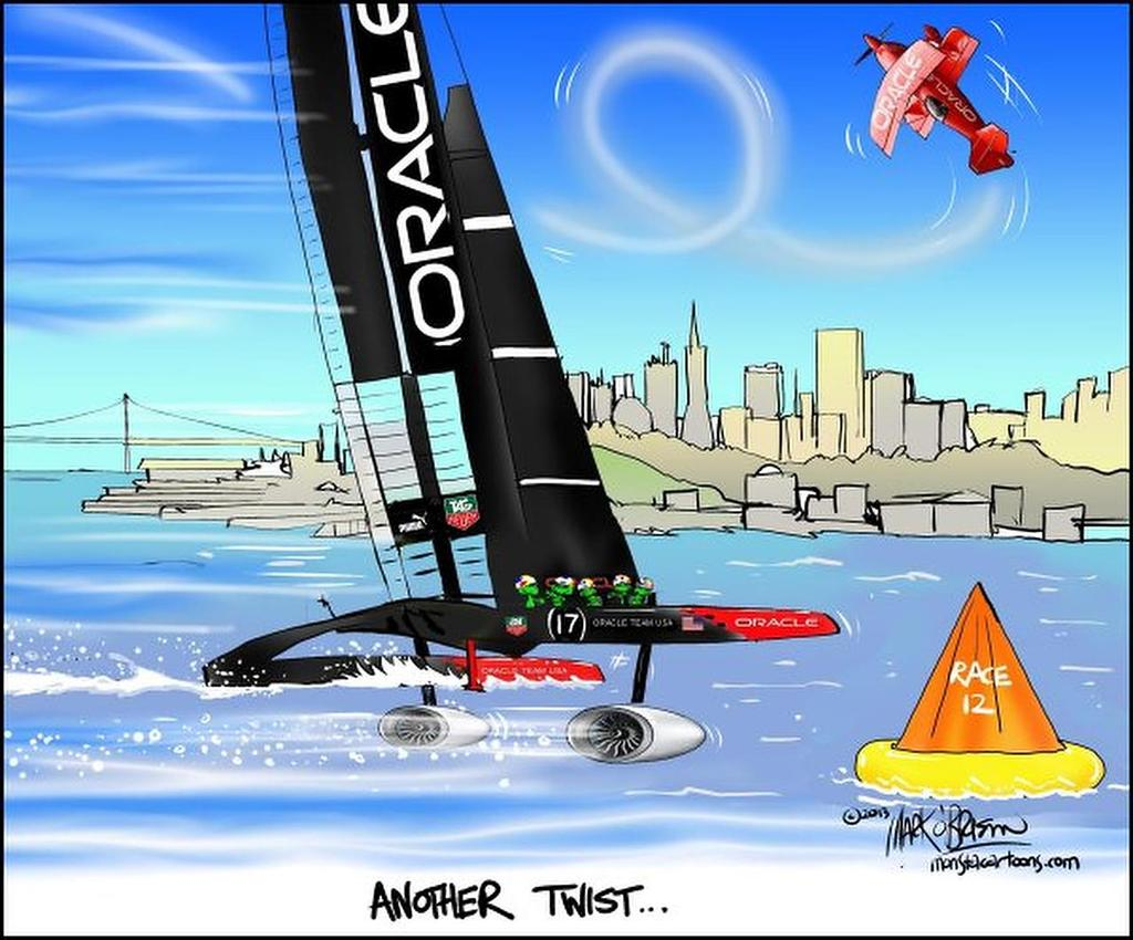 Another Twist - Day 9. America's Cup 34 © Monsta http://www.monsta.co.nz