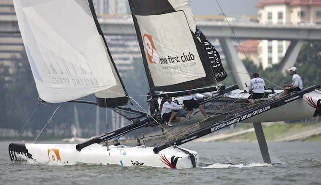 ALL4ONE, Extreme Sailing Series Singapore © Extreme Sailing Series http://www.extremesailingseries.com
