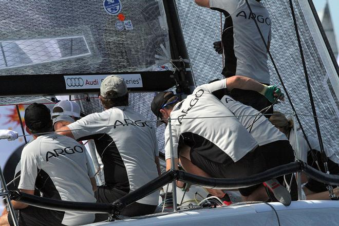 Jason Carroll, Argoin the 2013 Melges 32 World Championship © 2013 JOY | IM32CA