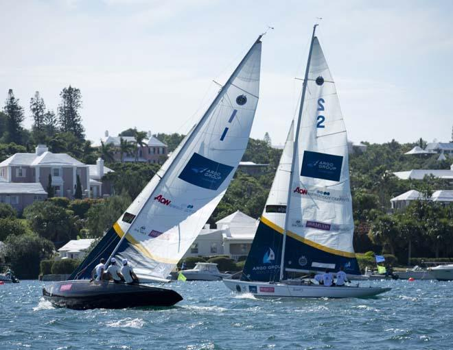 During the Practice Day at the Argo Gold Cup, Bermuda, part of the Alpari WMRT. ©  OnEdition / WMRT http://wmrt.com/