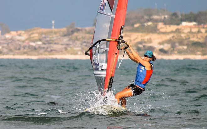 Bryony Shaw (GBR) in action © ISAF