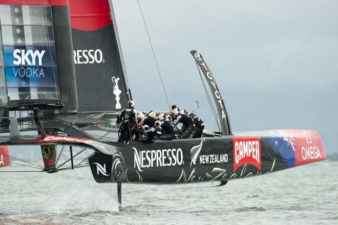 America s Cup- Emirates Team NZ Fans must wait another day for Race 14 ba622f2cd5f6