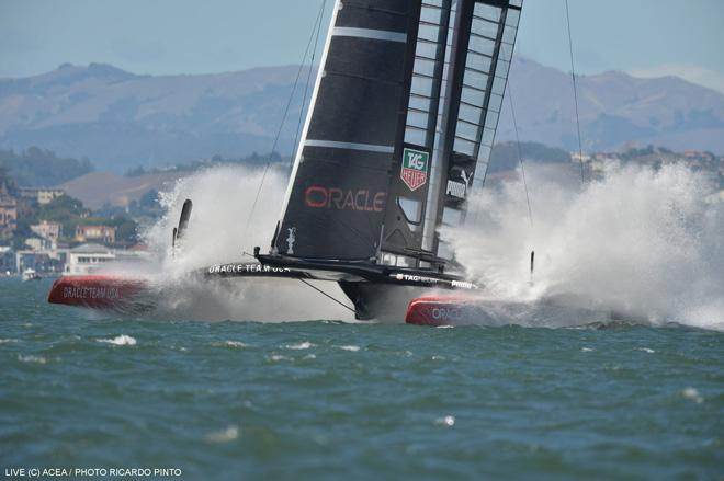 34th America's Cup - Oracle Team USA © ACEA / Ricardo Pinto http://photo.americascup.com/
