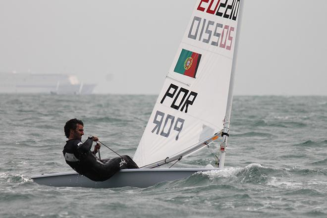 Gustavo Lima (POR) in the hunt once again © ISAF