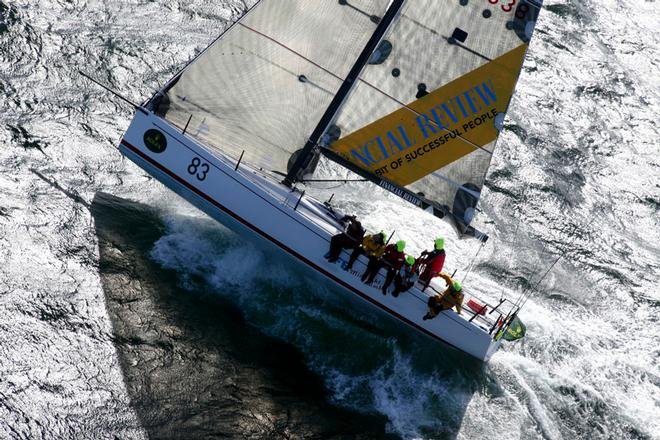 Midnight Rambler will be pushing hard for a second overall win in the Rolex Sydney Hobart Yacht Race. ©  Rolex/Daniel Forster http://www.regattanews.com