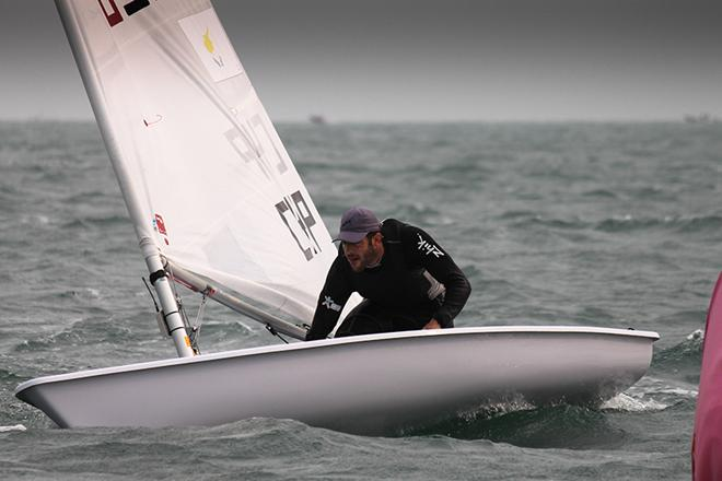 Pavlos Kontides (CYP) leads the way with double opening day bullets in the Laser © ISAF