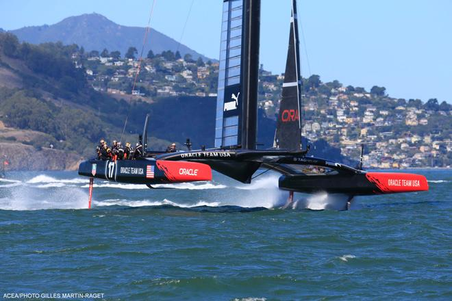 25/09/2013 - San Francisco (USA,CA) - 34th America's Cup - Oracle Team USA © ACEA - Photo Gilles Martin-Raget http://photo.americascup.com/