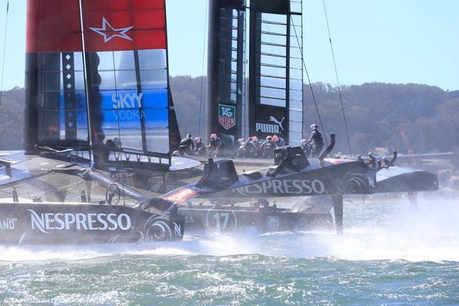 34th America's Cup - Oracle Team USA vs Emirates Team New Zealand, Race Day 15 © ACEA - Photo Gilles Martin-Raget http://photo.americascup.com/