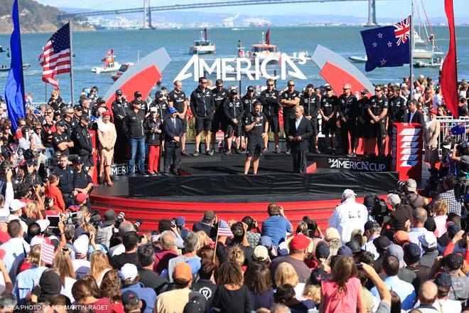 Emirates Team New Zealand, Race Day 15 © ACEA - Photo Gilles Martin-Raget http://photo.americascup.com/