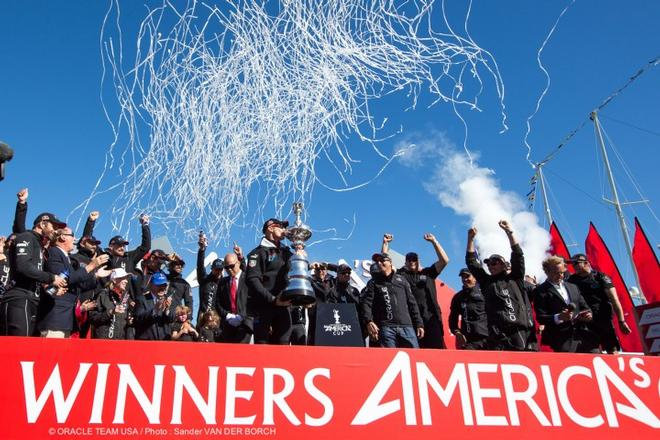 Oracle Team USA wins the 34th America's Cup © Guilain Grenier Oracle Team USA http://www.oracleteamusamedia.com/