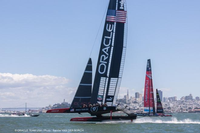 Oracle Team USA in action © Guilain Grenier Oracle Team USA http://www.oracleteamusamedia.com/